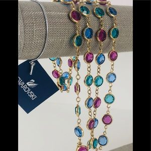 💃 💃 💃 Vintage Swarovski All Crystal Necklace